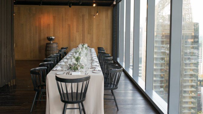 Can I hold a private event at Cook & Brew?